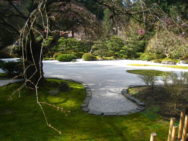 The Portland Japanese Gardens April 8 2011. Photo by Victoria Davila.
